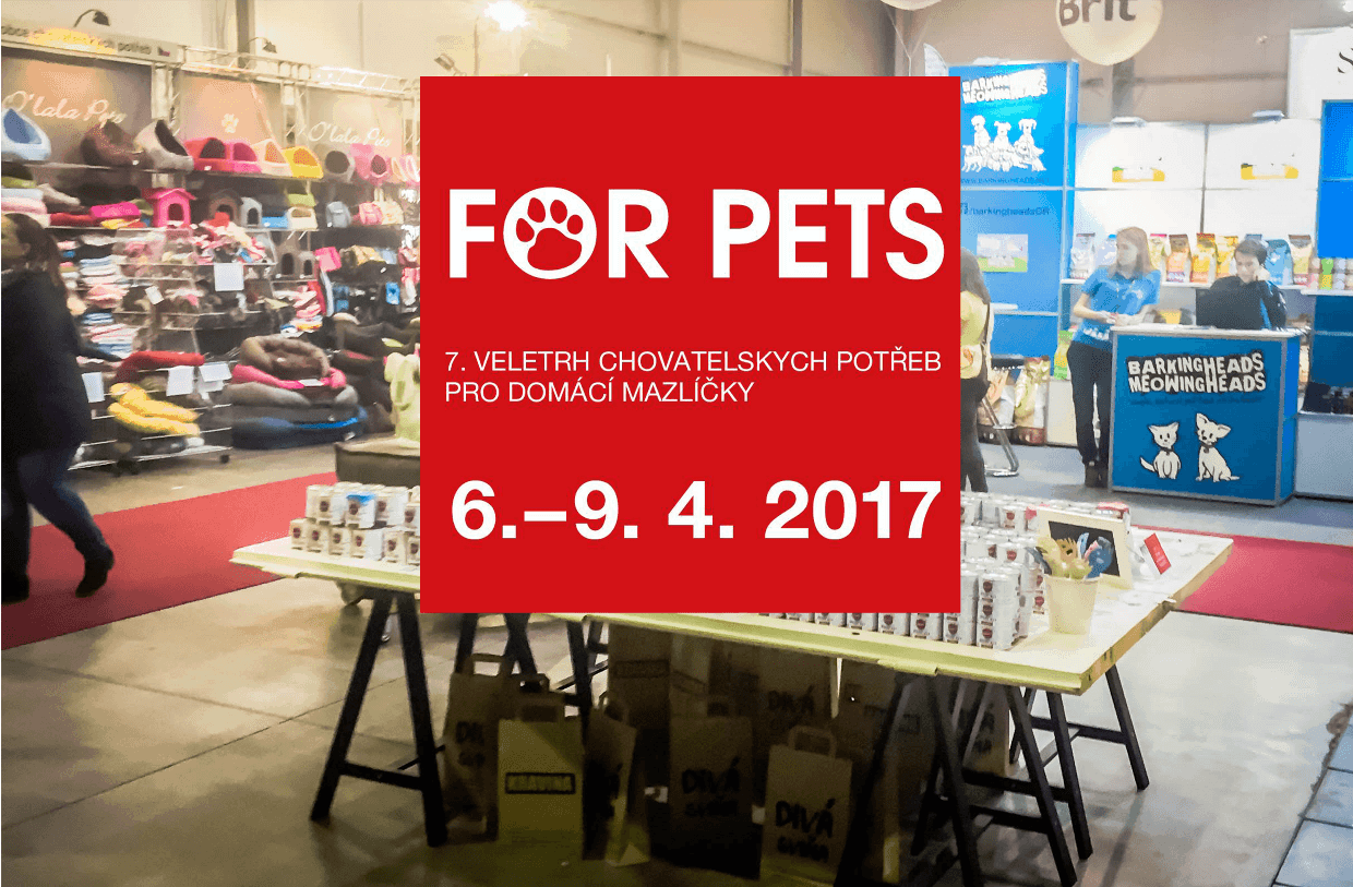 Psí report: veletrh FOR PETS 2017